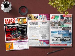 Recto Verso Magazine n°339 – Septembre 2021