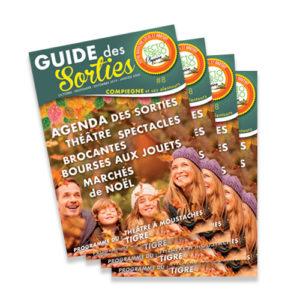 Guide des sorties – édition Automne – Hiver n°8 – octobre 2019 à janvier 2020