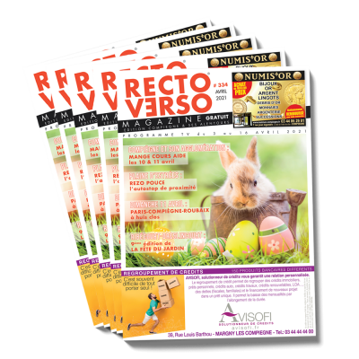 Recto Verso Magazine Avril 2021