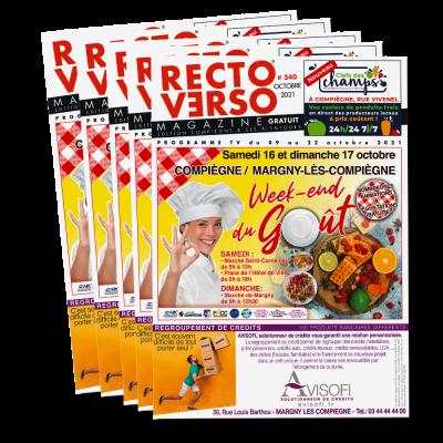 Recto Verso Magazine Octobre 2021